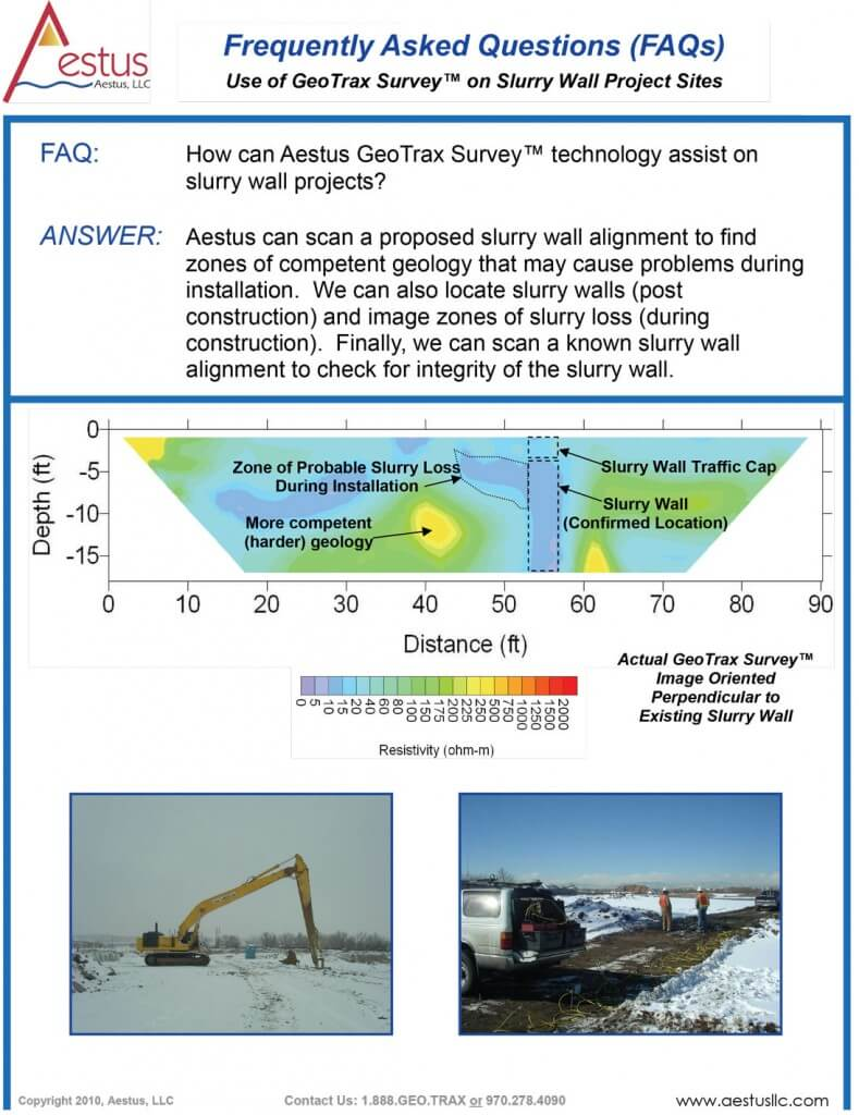 FAQs---Slurry-Wall-Detection-Using-GeoTrax-Survey(TM)-03-30-10